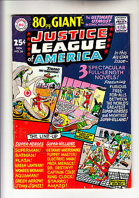 Justice League of America 39 80 page giant