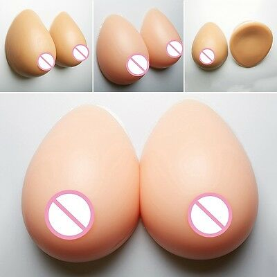 New Breast Forms Post Mastectomy Fake Silicone Boobs For Drag Queen Transgender