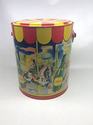 Vintage Squirt Soda Cooler With Handle 1953