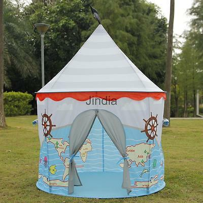 Kids Pop Up Pirate Castle Play Tent Play House Indoor Outdoor Toy Child Gift