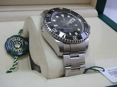 ROLEX Sea-Dweller Deepsea 116660 brand new boxed Oyster diver watch steel 44mm