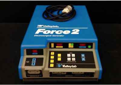 ValleyLab Force 2   - Footswitches INCLUDED, RECONDITIONED, Biomed Certified