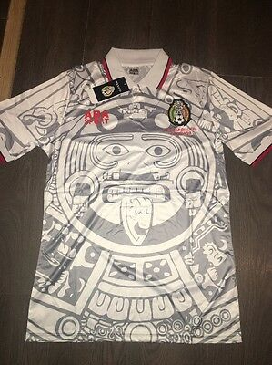 Mexico Retro Away Shirt 1998 World Cup Shirt Medium