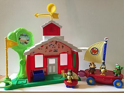 Wonder Pets Flyboat and Schoolhouse Adventure Fisher Price Linny Tuck Ming Ming