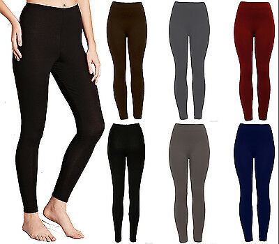 New Women Ladies  Winter Thermal Fleece Lining Leggings Warm Size 08-18,leg