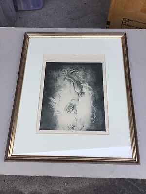 Norman Lindsay Virtue 9/550 Limited Edition Facsimile Etching
