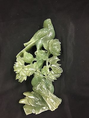 Wonderful Chinese Carved Jade Birds
