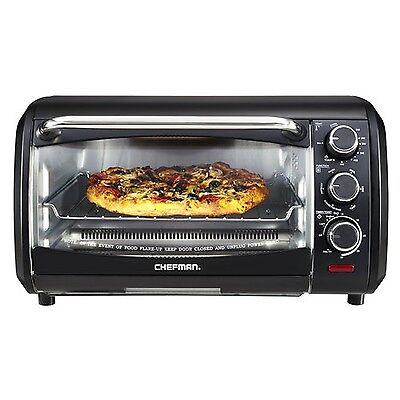 Chefman Extra-Large 6-Slice Countertop Convection Oven Black