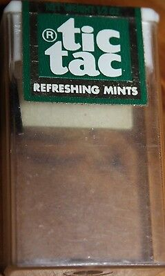 VINTAGE PACKET Tic Tac refreshing mints OZ