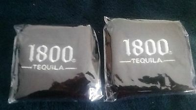 New Set Of 2 Cuervo  1800 Logo   Wrist Sweat Bands