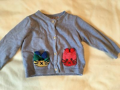 NEXT cardigan Baby Girl Age 9-12 Months