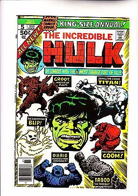 Hulk Annual 5 2nd app of Groot