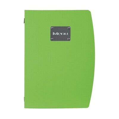 Securit Rio Menu Holder Green A4 BARGAIN