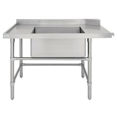 Vogue Dishwasher Inlet Table with Sink L 1800mm BARGAIN