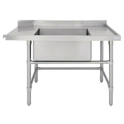 Vogue Dishwasher Inlet Table with Sink R 1800mm BARGAIN