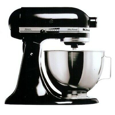 Kitchenaid Black Egg Eggs Cake Patisserie Baker Dough Ksm150 Mixer