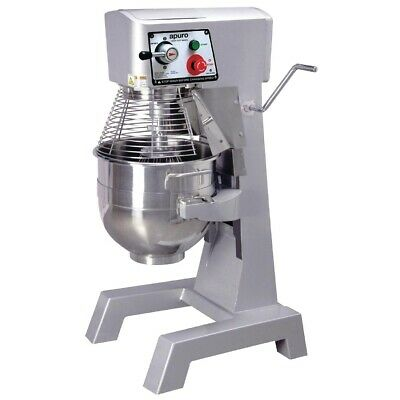 Commercial Apuro Planetary Pizza Bread Cake Dough Bakery Baker Mixer 30Ltr