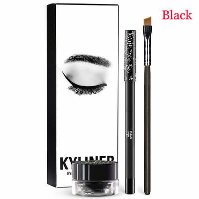 Kylie Jenner Kyliner Eyeliner & Gel Liner Set With Brush -UK SELLER!!