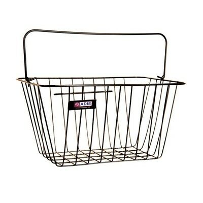 » Adie Black Wire Standard Front Bicycle Shopping Basket