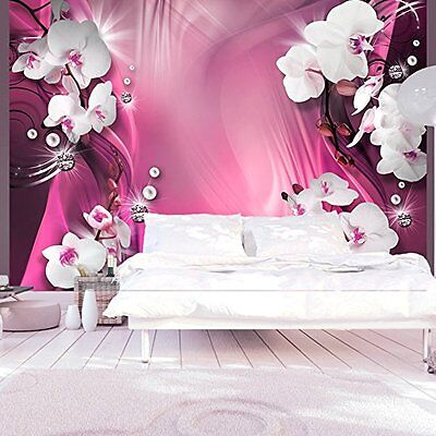 3d design foto vlies tapete blumen abstrakt 6 350. Black Bedroom Furniture Sets. Home Design Ideas
