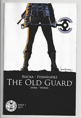 THE OLD GUARD #1 (1st PRINT) IMAGE GREG RUCKA Movie Option! SOLD OUT 2017 NM