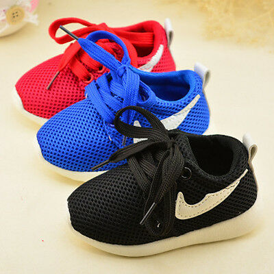 DIIMUU Kids Boys Child Sports Running Shoe Boy Baby Infant Casual Trainers Shoes