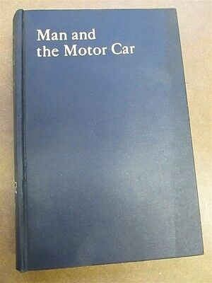 1938 Man and The Motor Car Book A-3