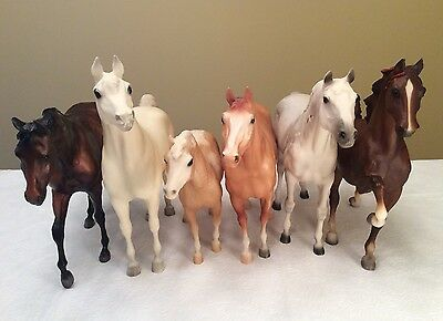 Breyer Horse Lot Trakehner Adios Misty John Henry Five Gaiter Proud Arabian