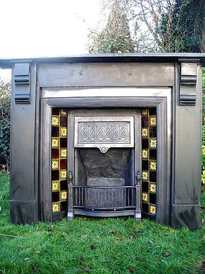 Victorian Fireplace Slate Surround