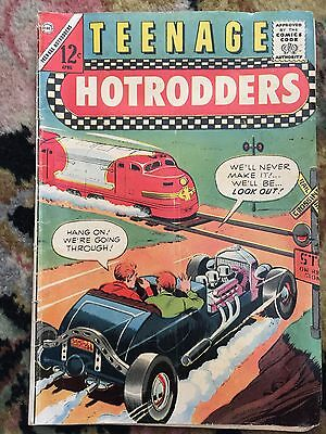 TEENAGE HOTRODDERS  Volume 1 Number 1 APRIL 1963 COMIC BOOK Collector's Item