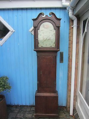 Grandfather Clock 8 Day 13X18  Spares Or Repair