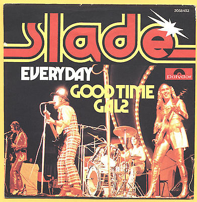 SOLO COPERTINA - COVER ONLY - SLADE - Everyday - GER EX