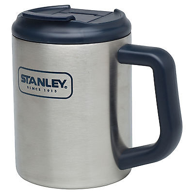 Stanley Camp Mug 473ml Double Wall Insulated Stainless Steel leak resistant