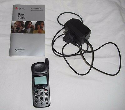 Vintage Sprint Qualcomm QCP 2760 Cell Phone Dual Band