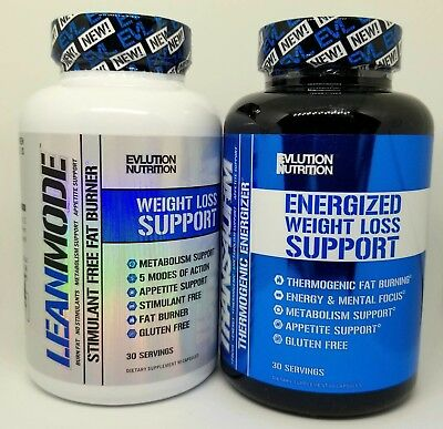 Evlution Nutrition EVL Fat Burner Stack: TRANS4ORM + LEAN MODE 30 Servings - NEW