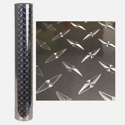 24'' x 20' DIAMOND PLATE SELF ADHESIVE VINYL- INDOOR / OUTDOOR DURABILITY