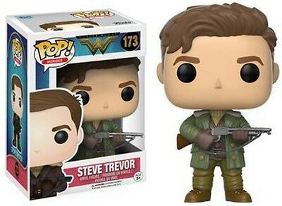 Funko Pop! Movies: Dc Wonder Woman - Steve Trevor (2017, Toy NEUF)