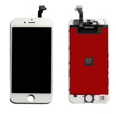 """For iPhone 6 4.7"""" White Replacement OEM LCD Display + Touch Digitizer Assembly"""