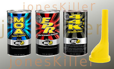 BG 44k + EPR + MOA COMBO KIT  and free Funnel - The 3 Musketeer Engine Service