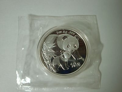 2004 China 10 Yuan Panda silver proof Coin double mint sealed rare htf