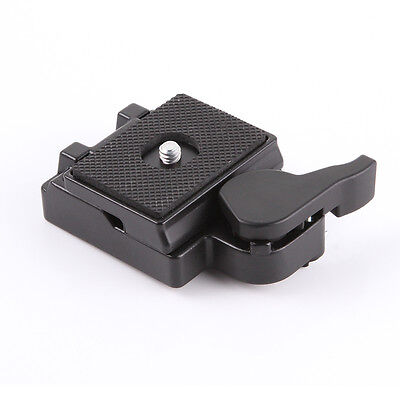 Quick Release Plate Clamp Adapter for Manfrotto 200PL-14 323 RC2 System Tripod
