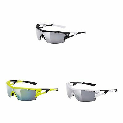 Northwave Tour Pro Cycling / Bike Sunglasses With Smoke / Orange / Clear Lenses