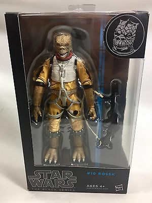 "Brand New Sealed Star Wars The Black Series No. 10 Bossk 6"" Inch Action Figure"