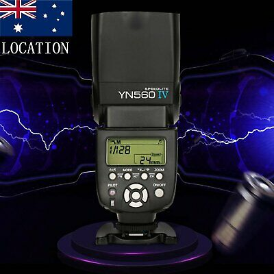 Yongnuo YN-560 IV Flash Speedlite for Canon Nikon Olympus Pentax Camera AU