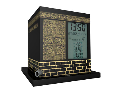 The Kaaba Azaan Clock Azan Prayer Namaz with MP3 Player Function Islamic Adhaa