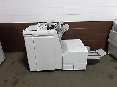 Xerox Booklet Maker Finisher TKX  and Xerox Square Fold Face Trimmer TLX