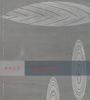 Rago Mid-Mod Auction Catalog. Rago. October. 2015; 100 p. softcover