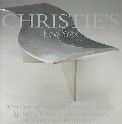 20thC. Decorative arts & Design Auction Catalog Christie's March 2004; 165 p. sc