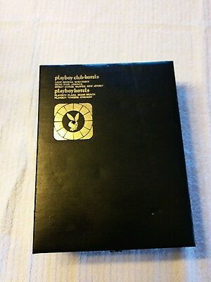 Playboy club hotels lake geneva Wisconsin. Room box with book/candles.