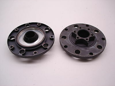 "2 Nascar Ford 9"" Floater Super Speedway Hub Rear End Ultra Light Drive Plates"